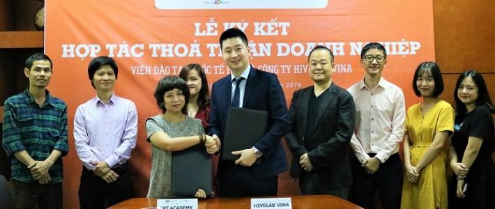 Viện Đào tạo Quốc tế FPT hợp tác chính thức với Hivelab Vina trong hỗ trợ đào tạo và phát triển nguồn nhân lực tại Việt Nam – Hàn Quốc