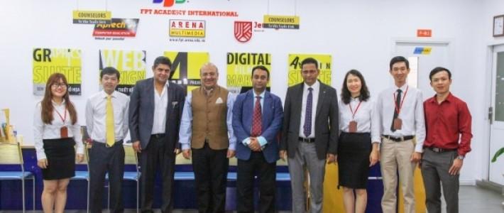 FPT Arena Multimedia nhận Bằng khen danh giá từ Tập đoàn Aptech Ấn Độ