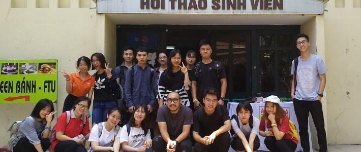 """""""Kể chuyện bằng ảnh"""" – Phi vụ kết nối giữa FPT Arena Hà Nội và Đại học Ngoại Thương"""
