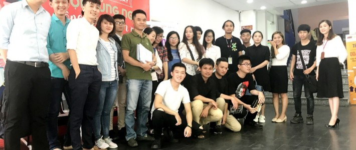 Sinh viên FPT Arena gặp gỡ doanh nghiệp trong buổi bảo vệ đồ án