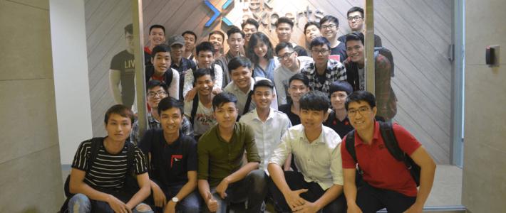 Toàn cảnh chuyến tham quan doanh nghiệp Tek Experts của sinh viên Viện Đào tạo Quốc tế FPT