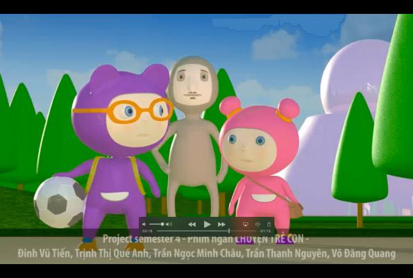 Project Sem 4 – Phim hoạt hình Chuyện trẻ con
