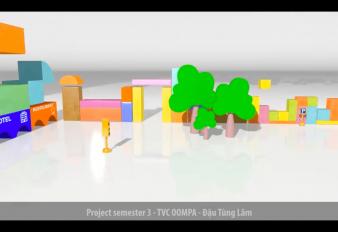 Project Sem 3 – TVC Quảng cáo đồ chơi gỗ Oompa