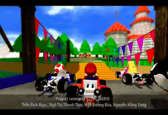 Project Sem 3 – TVC Game – Mario Kart Super Circuit 3D