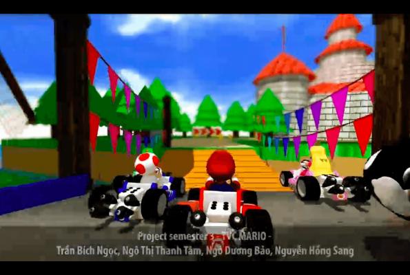 Project Sem 3 – TVC Game – Mario Kart Super Circuit 3D
