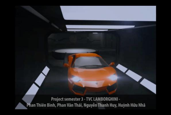 Project Sem 3 – TVC Lamborghini
