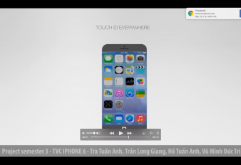 Project Sem 3 – iphone 6 Advertisement