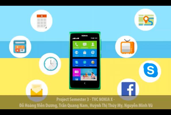 Project Sem 3 – TVC Nokia X
