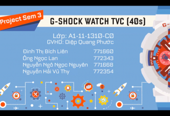 Project – gshock watch