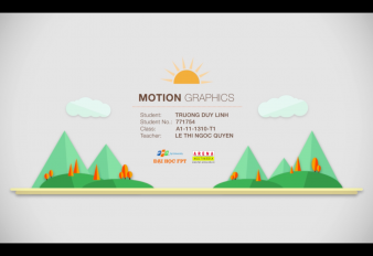 Project – Motion Graphics