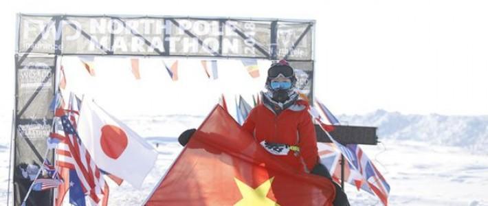 FANer Tăng Nguyệt Minh – người phụ nữ Việt Nam đầu tiên chạy marathon ở Bắc Cực