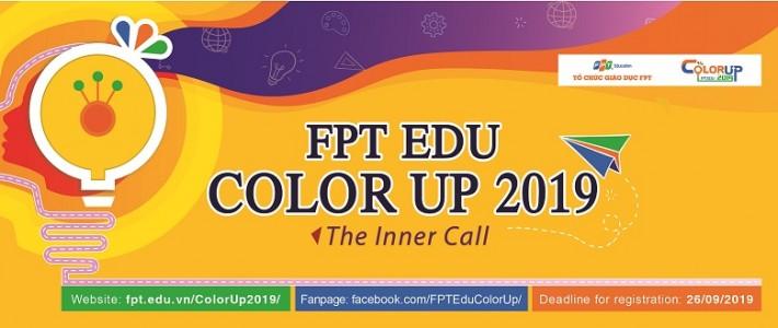FPT Edu chính thức khởi động cuộc thi thiết kế đồ họa FPT Edu ColorUp 2019