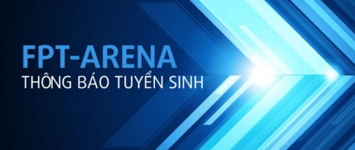 Quý 2 năm 2015: FPT Arena tuyển 400 chỉ tiêu học thiết kế đồ họa