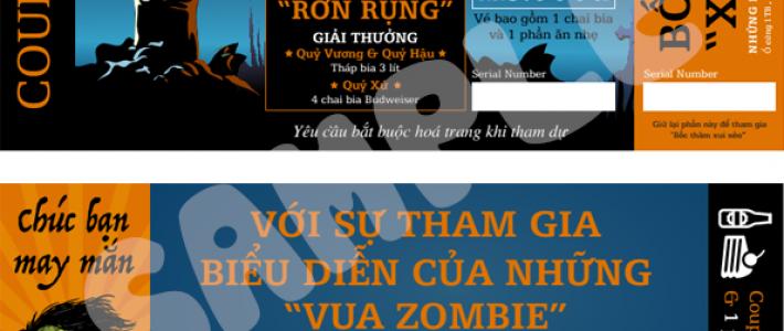 """Ngày hội Zombieland – Sinh viên FPT Arena hồi hộp đón """"Quỷ Ma"""""""